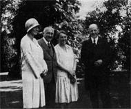 Paul Harris en Europe 1928
