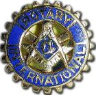 Insigne Rotary franc-macon