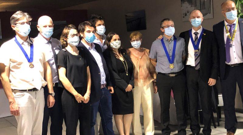 Belle soirée de passation :nouvelle équipe dirigeante du Rotary Club Toulouse Terre d'Envol